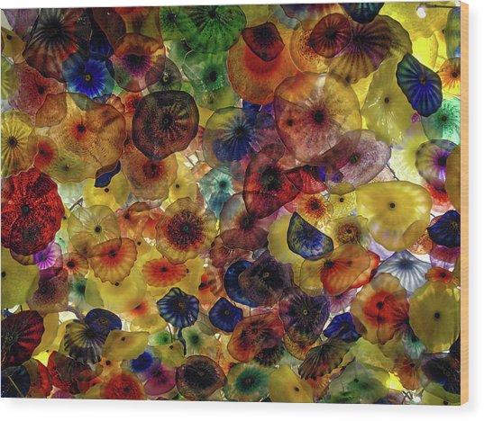 Beautiful Colors Wood Print