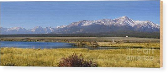Beautiful Panoramic Landscapes Wood Print