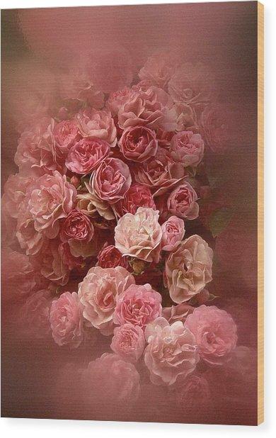 Beautiful Roses 2016 Wood Print