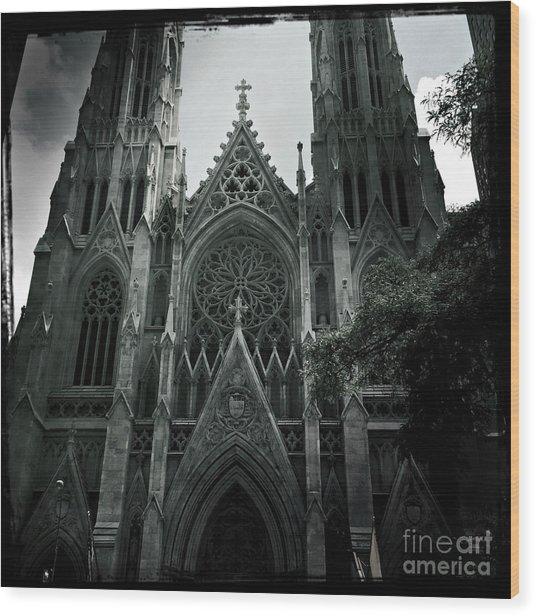 Beautiful St Patricks Cathedral Wood Print