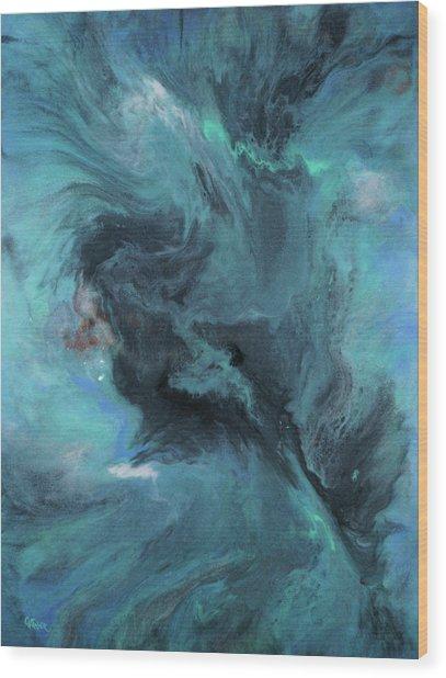 Beautiful Storm Wood Print