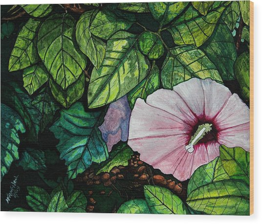 Beauty In Bloom Wood Print by Willie McNeal