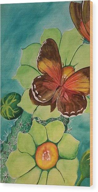 Beauty In Butterflies Wood Print