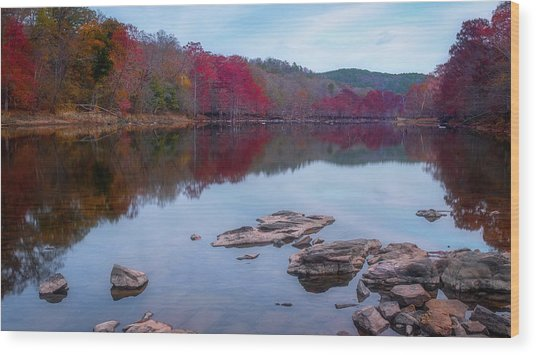 Beavers Bend State Park Wood Print