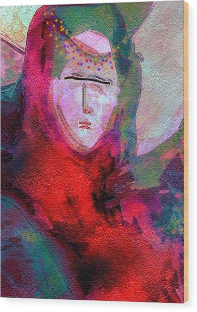 Bedouin 4 Wood Print