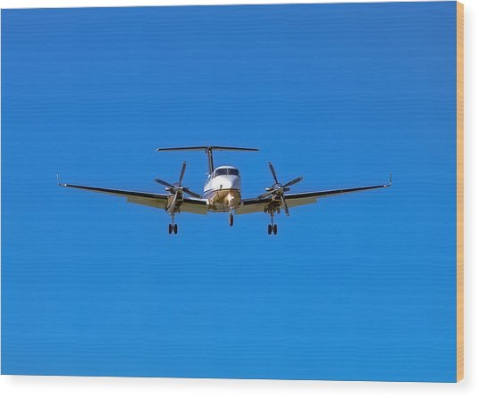 Beechcraft Super King Air 350 Wood Print