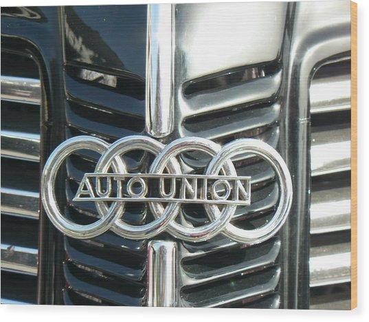 Before Audi Was Audi Wood Print