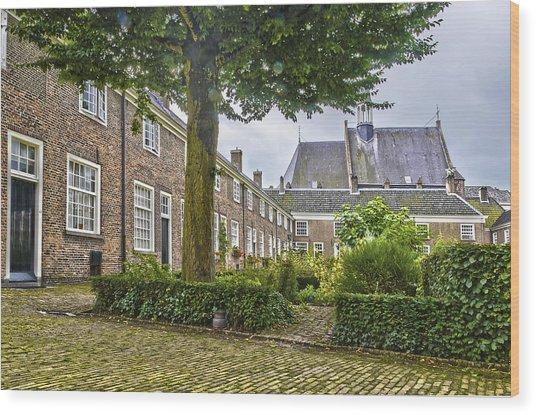 Begijnhof In Breda Wood Print
