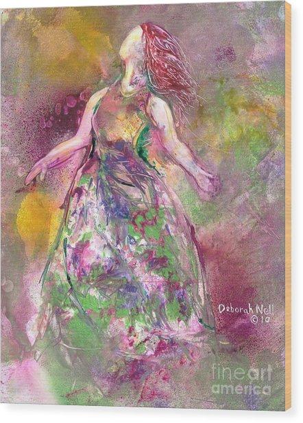Behold My Beloved Wood Print by Deborah Nell