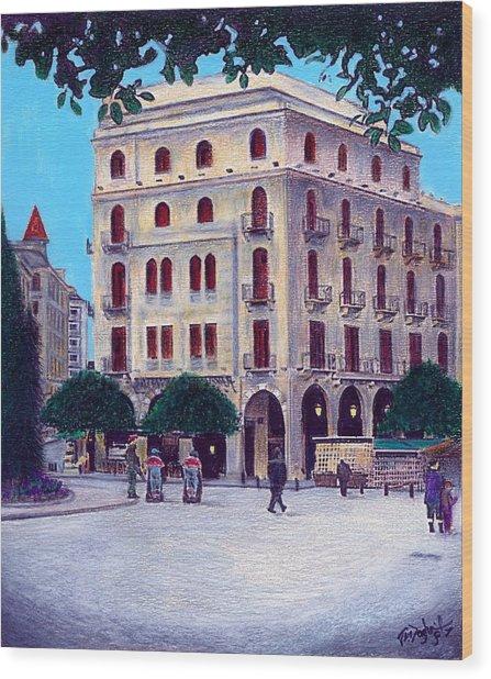 Beirut - Centre Ville Wood Print