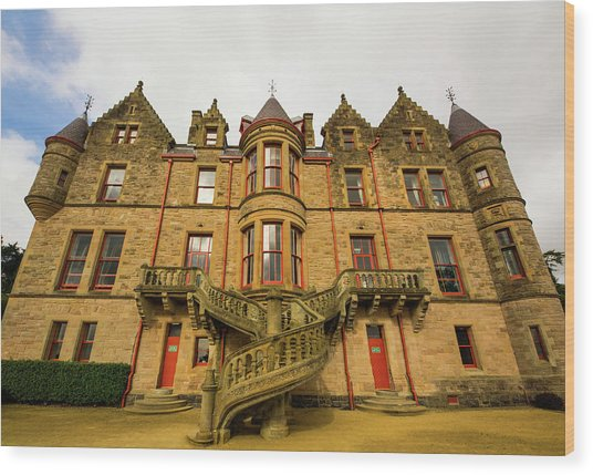 Belfast Castle Wood Print