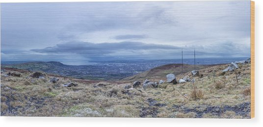 Belfast Lough From Divis Mountain Wood Print