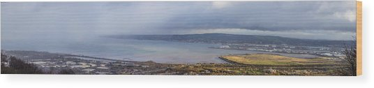 Belfast Lough  Wood Print