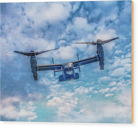 Bell Boeing V-22 Osprey  Wood Print