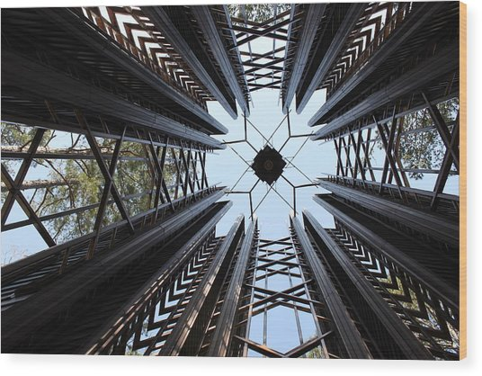 Bell Tower Wood Print by Nathan Grisham