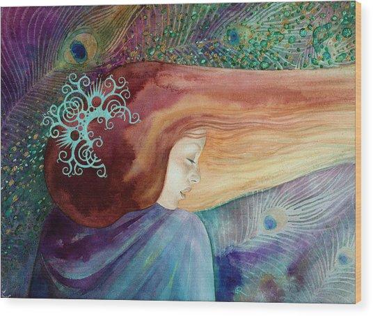 Bella Aurora Wood Print