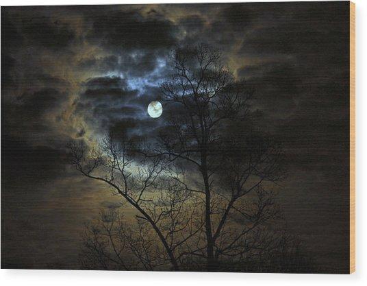 Bella Luna Wood Print