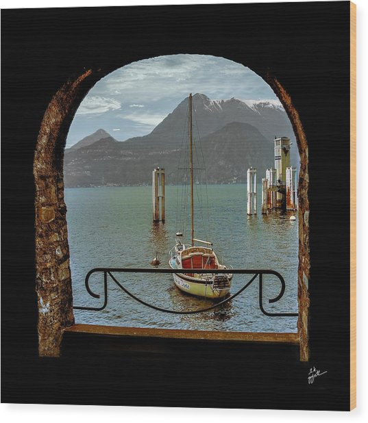 Bella Varenna - For Print Or Wrapped Canvas Wood Print