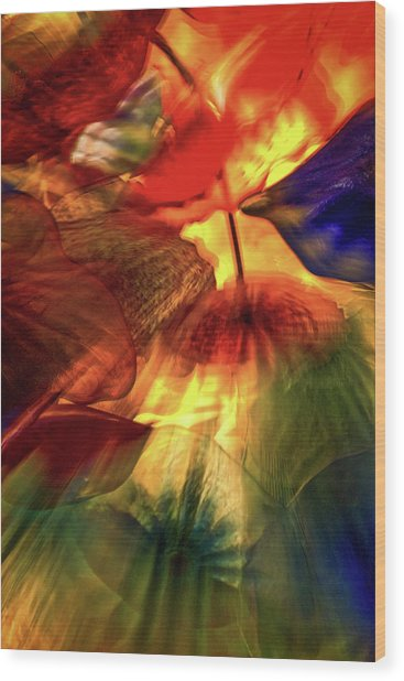Bellagio Ceiling Sculpture Abstract Wood Print