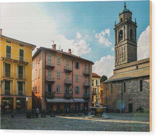 Bellagio, Lake Como, Italy. Wood Print