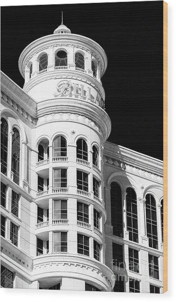 Bellagio Las Vegas Up Close Wood Print by John Rizzuto