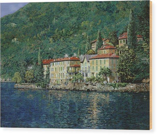 Bellano On Lake Como Wood Print