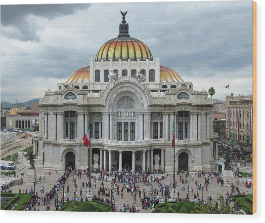 Bellas Artes Wood Print