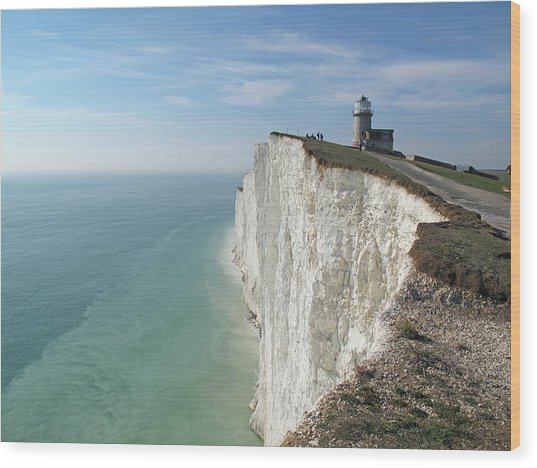 Belle Tout Lighthouse, East Sussex. Wood Print by Philippe Cohat