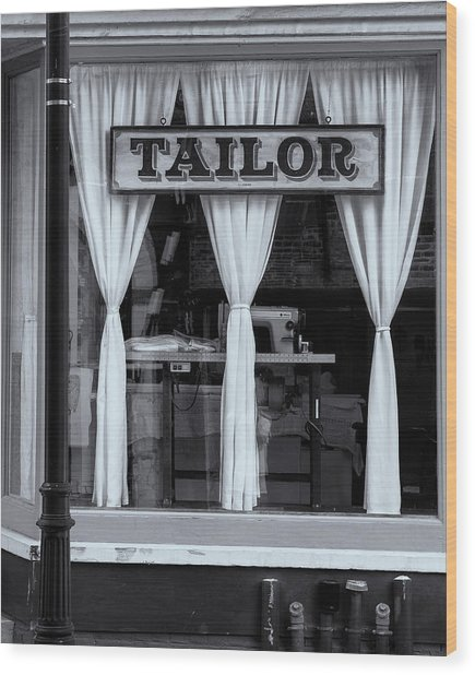 Bellows Falls Tailor Wood Print