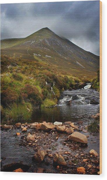 Ben Wyvis Wood Print