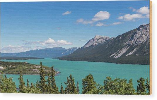 Tagish Lake Wood Print