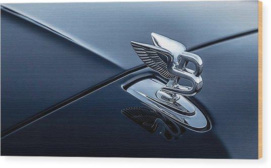 Bentley Flying B Wood Print
