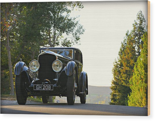 Bentley Speed 6 Corsica Wood Print