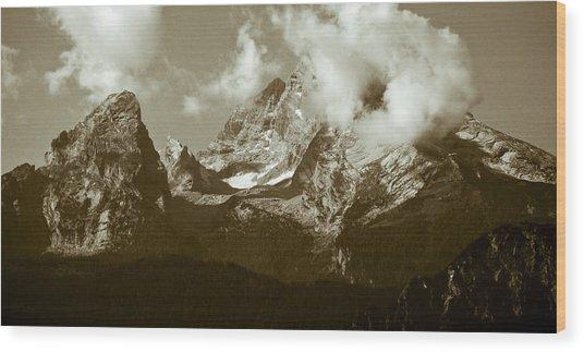 Berchtesgaden Mountains Wood Print by Frank Tschakert