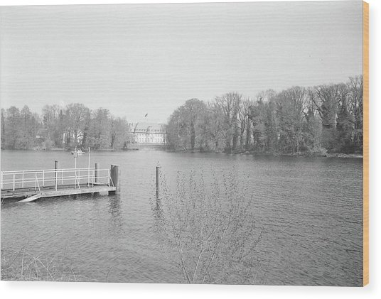 Berlin Lake Wood Print