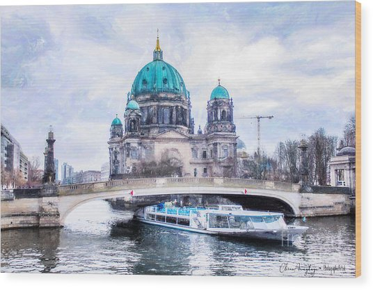 Berliner Dom Wood Print