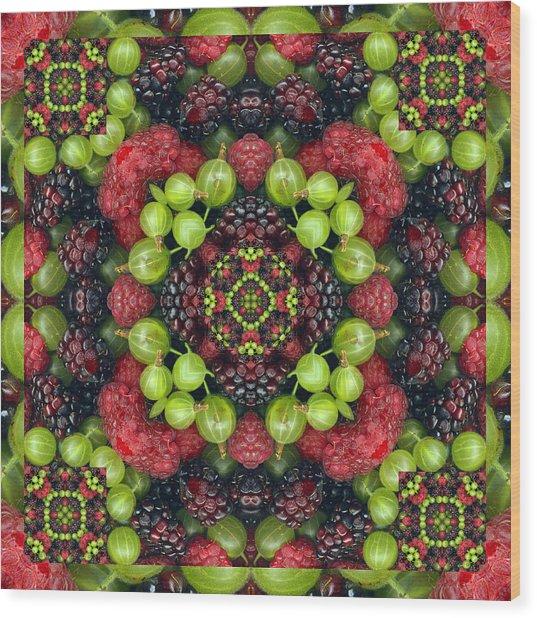 Berry Good Wood Print