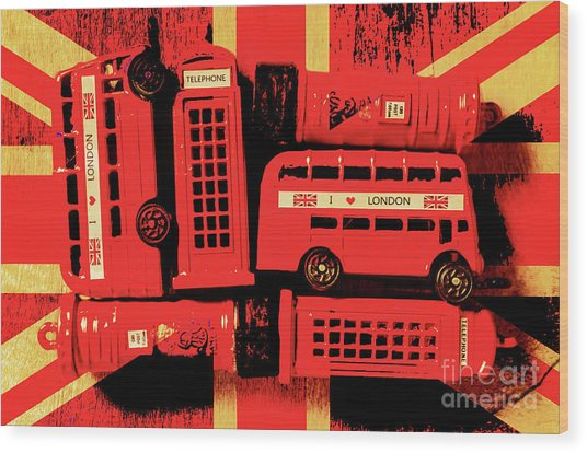 Best Of Britain Wood Print