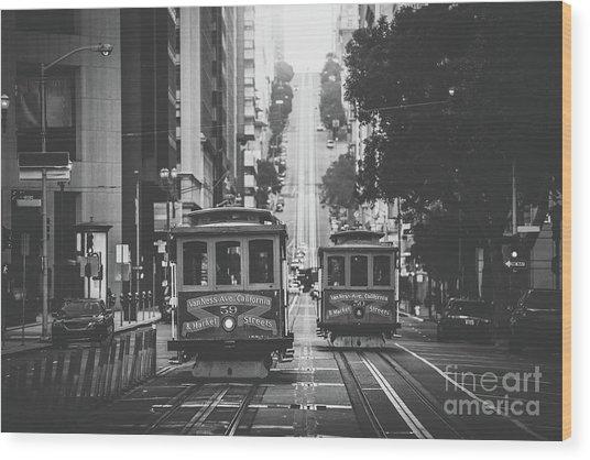 Best Of San Francisco Wood Print