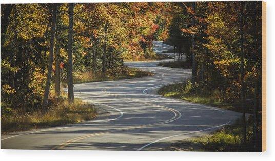 Best Road Ever Wood Print