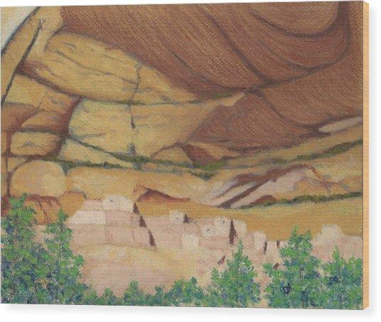 Betatakin Cliffdwellers Wood Print