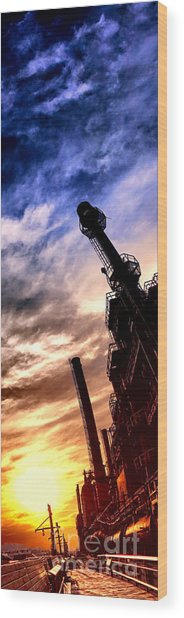 Bethlehem Steel Glory Wood Print