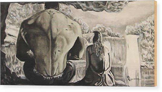 Bettie's Hulk Wood Print