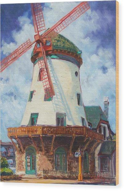 Bevo Mill In St.louis Wood Print