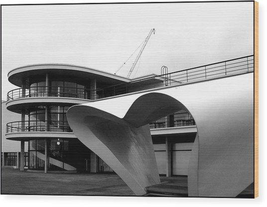 Bexhill 1 Wood Print by Jez C Self