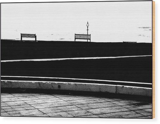 Bexhill 19 Wood Print by Jez C Self