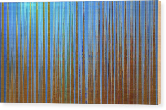 Beyond The Veil  Wood Print