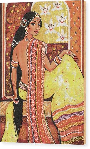 Bharat Wood Print