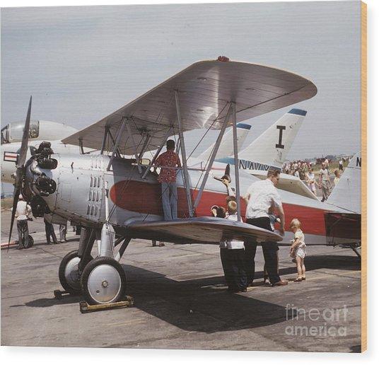 Bi-wing-3 Wood Print