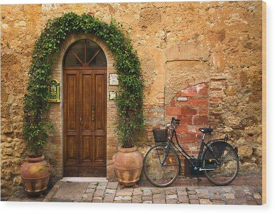 Bicletta Wood Print